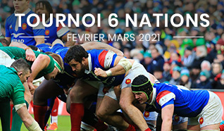 Tournoi six nations 2021 - 6 nations billets