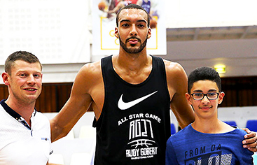 Stage Basket Rudy Gobert - Caraibes Voyages - Couleur Voyage