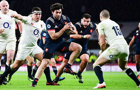 Hospitalités VIP Tournoi 6 Nations Rugby France Angleterre - Couleur Voyage
