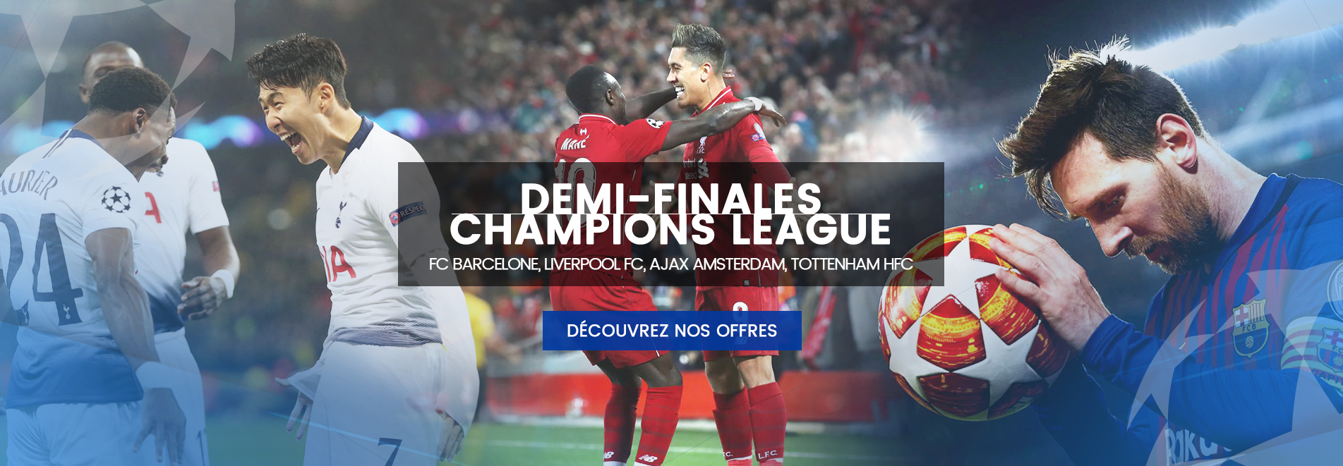 Packages Champions League 2019 - 2020