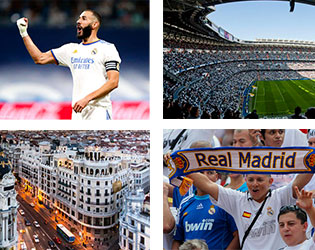 Voyage Football Real Madrid - Groupe Couleur