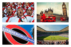 Rugby Sports Travel - 6 NATIONS TOURNAMENT - England - Groupe Couleur