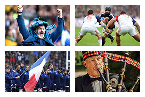 Rugby Sports Travel -  6 NATIONS TOURNAMENT - France v Scotland - Groupe Couleur