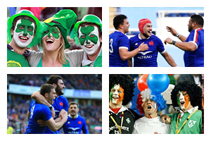 Voyage sport Rugby -tournoi 6 NATIONS - Irlande v France - Groupe Couleur