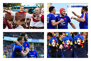 Voyage sport Rugby 6 NATIONS - France v Italie - Groupe Couleur