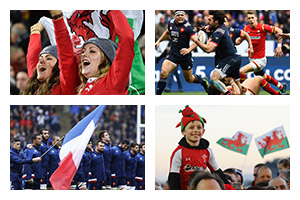 Rugby Sports Travel -  6 NATIONS TOURNAMENT - France v Wales - Groupe Couleur