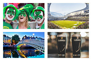 Rugby Sports Travel - 6 NATIONS TOURNAMENT - Ireland - Groupe Couleur