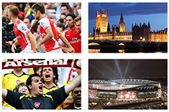 Voyage sport Football Arsenal - Groupe Couleur