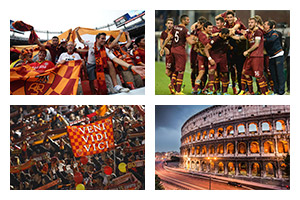 Voyage Football AS ROMA - Groupe Couleur