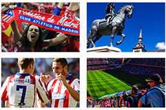 Voyage Football Atletico Madrid - Groupe Couleur