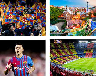 Voyage Football FC Barcelone - Groupe Couleur