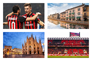 Voyage sport Football Milan - Groupe Couleur