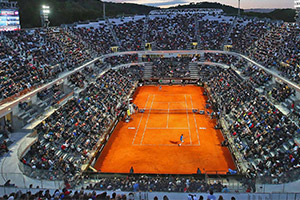 Voyage sport Tennis Internationaux Italie - Foro Italico - Groupe Couleur