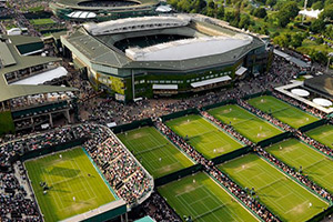 Voyage sport Tennis Wimbledon - All England Lawn Tennis - Groupe Couleur