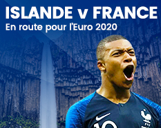 Islande - France FFF - equipe de france billet match