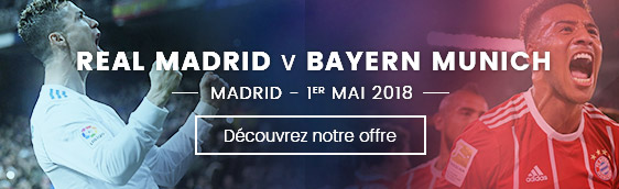 Real Madrid Bayern Munich - League des Champions - Mai 2018