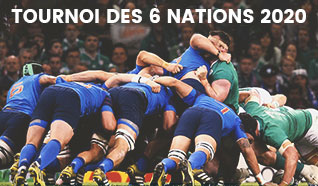 Tournoi six nations 2020 - 6 nations billets