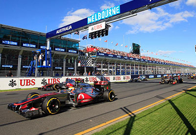Circuit GP d'Australie - Melbourne- Informations et plans de stade - Couleur Voyages