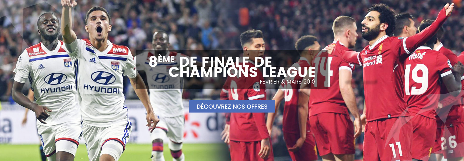 8ème Finale Champions League - Voyages Sports