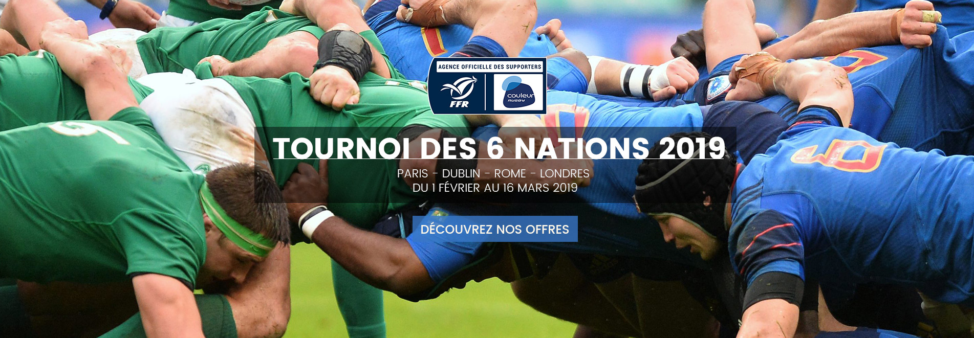 Tournoi des 6 Nations - Voyages Sports