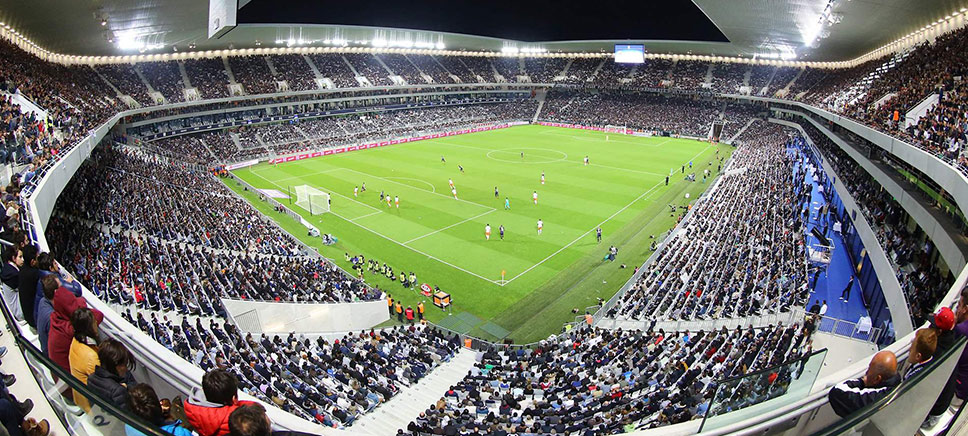 stade matmut Atlantique - Bordeaux France
