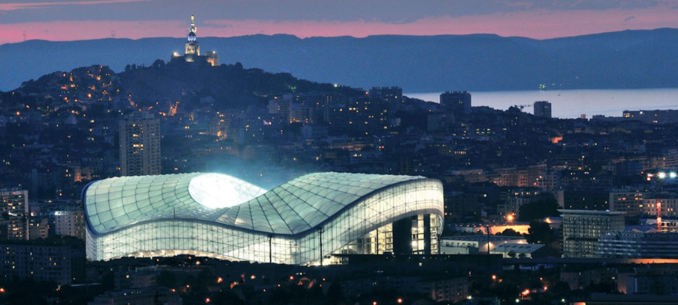 STADE orange VELODROME - Marseille France