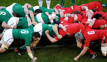 Irlande v Pays de Galles  - Calendrier tournoi 6 nations 2020 - Voyagez Rugby
