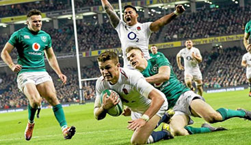 Angleterre v Irlande - Calendrier tournoi 6 nations 2020 - Voyagez Rugby