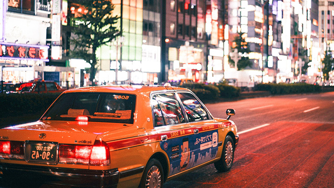 Jeux Olympiques Tokyo 2021 Transports Japon - taxis