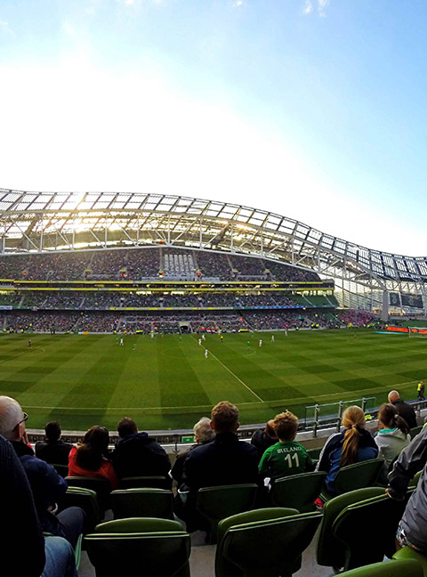 dublin - couleur voyages supporters FFF - billet match equipe de france - uefa euro 2020