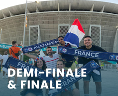 couleur voyages supporters FFF France Barragiste - billet match equipe de france - uefa euro 2020