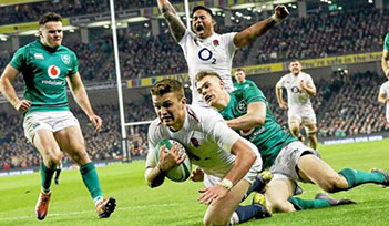 ANGLETERRE v IRLANDE match- tournoi 6 nations 2020 - billets six nations 2020 - séjours rugby