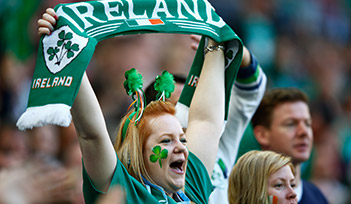 Match IRLANDE v FRANCE - Dublin - Billetterie - Weekend Tournoi 6 nations 2021 - Couleur voyages Rugby