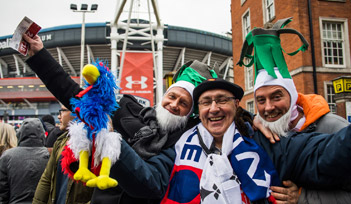 Match GALLES v FRANCE - Cardiff - Billetterie - Weekend Tournoi 6 nations 2022 - Couleur voyages Rugby