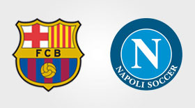 FC Barcelone-Naples