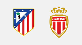 Atletico Madrid-AS Monaco