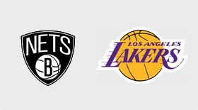 Brooklyn Nets-Los Angeles Lakers