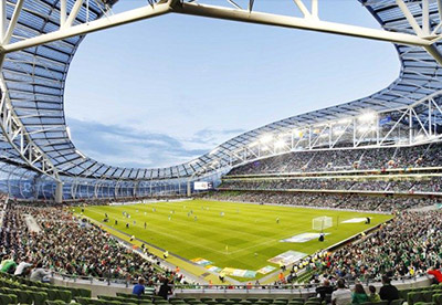 Aviva Stadium Maps and Informations - Couleur Voyages Travel