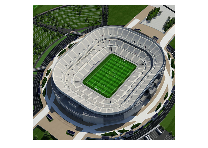 GROUPAMA STADIUM - stade Lyon France