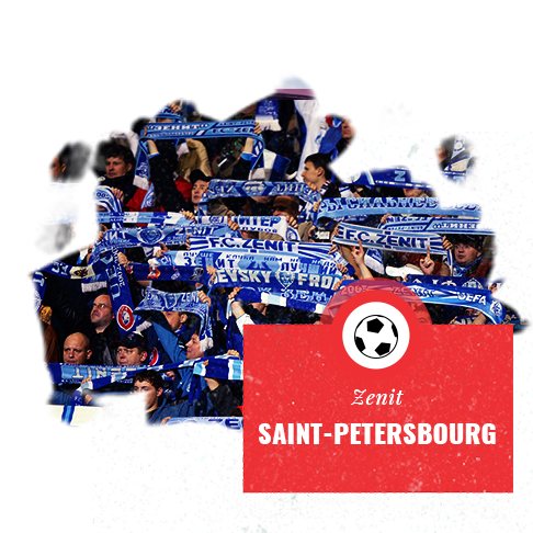 Zenit  St Petersbourg - Coupe du Monde Football Russie 2018 - Couleur Voyage