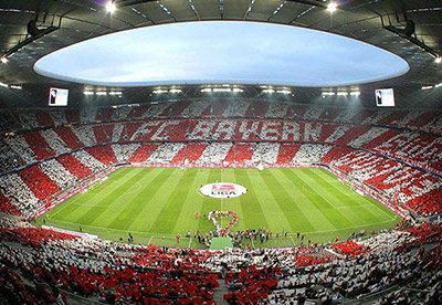 Allianz Arena - Informations et plans de stade - Couleur Voyages