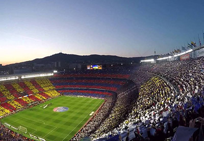 Camp Nou - Informations et plans de stade - Couleur Voyages